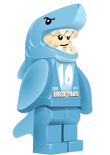 Minifig Sam costume de requin 10ans