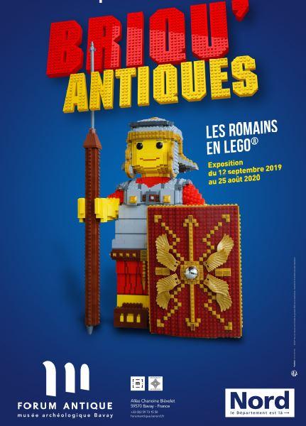 Briqu'antiques, les Romains en LEGO®